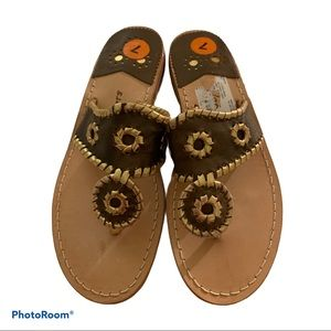 New Jack Rogers leather sandals